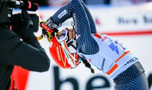 Ski World Cup 2016-2017 Crans Montana, Swiss 24/2/2017. Federica Brignone(ITA), photo by: Gabriele Facciotti/Pentaphoto-Mateimage,
