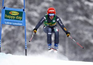 Ski World Cup 2016-2017. Federica Brignone(ITA) Lake Louise 04 Dec. 2016. Photo (Marco Trovati Pentaphoto- Mateimage)