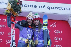 Ski World Cup 2016-2017.Federica Brignone  Marta Bassino  (ITA) Kronplatz (ITA) 24 January 2017 Photo (Marco Trovati Pentaphoto/Mateimage)