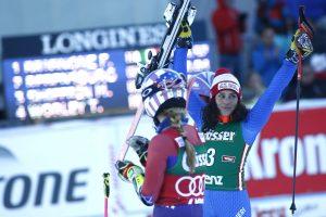 Ski World Cup 2017/2018.   Lienz (AUT)  29/12/ 2017. Federica Brignone (ITA) Photo Giovanni Auletta/Pentaphoto