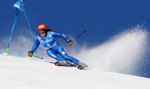 Ski World Cup 2017/2018 Kronplatz ,Italy 23/1/2018.--Federica Brignone (Ita) .  photo:Pentaphoto/Alessandro Trovati.