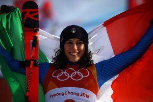Olympics winter games PyeongChang 2018.  Italy's Federica Brignone bronzemedal  in giant slalom Yongpyong Alpine Center 14/02/2018 Photo: Pentaphoto/Marco Trovati