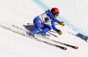 Ski World Cup 2017/2018, Crans Montana (SUI), 04/03/2018, Federica Brignone (ITA), Photo by Gabriele Facciotti, Pentaphoto
